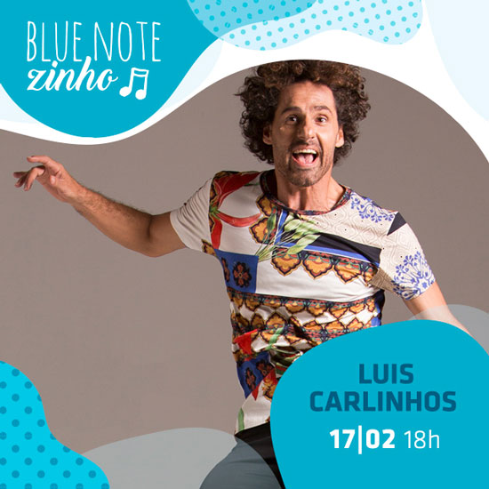 Luis Carlinhos no Blue Note zinho